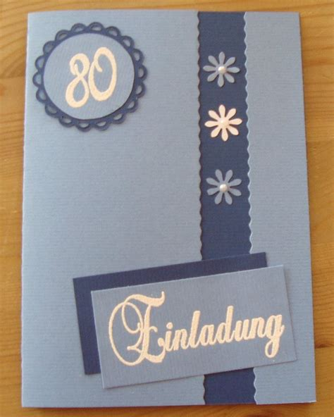 Karten Einladung by Einladungskarten Geburtstag Selber Machen Einladung Zum
