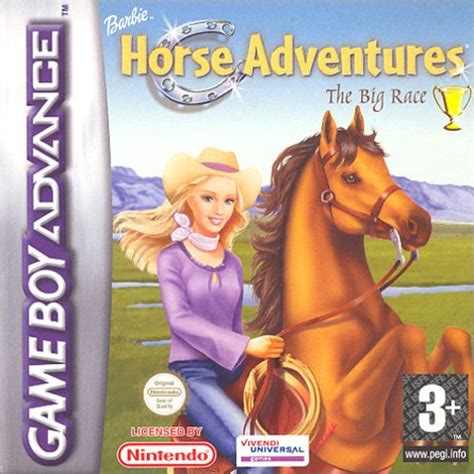 emuparadise adventure games barbie horse adventures e suxxors rom