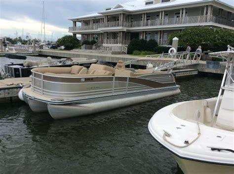 tritoon boats alabama harris pontoons boats for sale in alabama