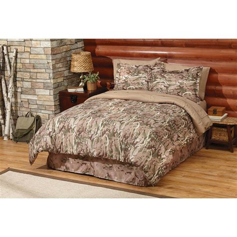 camo bed hq issue multi terrain camo bed set 652371 comforters