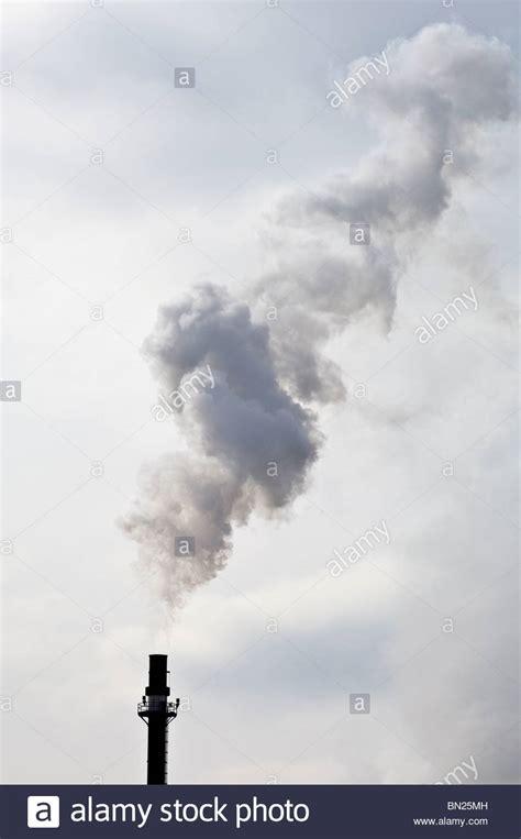 Stelan Pkumy steam plume from the koda energy biomass facility on the rahr malting stock photo royalty free