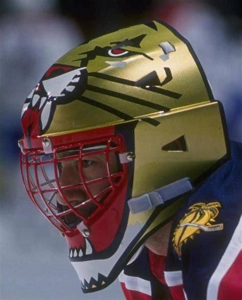 Florida Cool john vanbiesbrouck game worn mask florida panthers