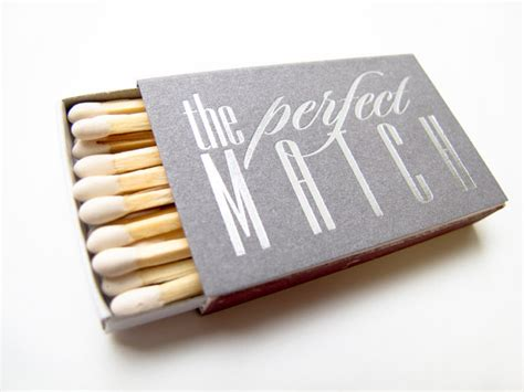 Wedding Box Matches by 100 The Match Matchbox Wedding Favors Foil By
