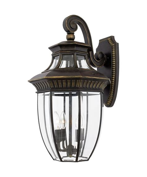 Quoizel Outdoor Lighting Quoizel Gt8982 Georgetown 4 Light Outdoor Wall Light