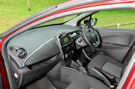 Renault Zoe Interior Autocar