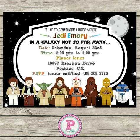 printable lego star wars invitations star wars lego birthday party ideas invitations photo