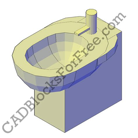 bidet cad block cadblocksforfree october 2012