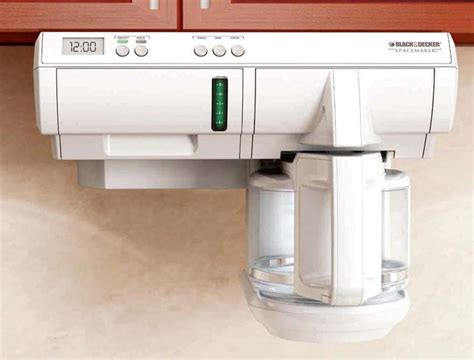 best under cabinet coffee maker applica consumer products reannounces black decker