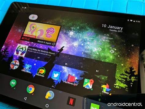 tablet widgets the android launcher experience on tablets is still