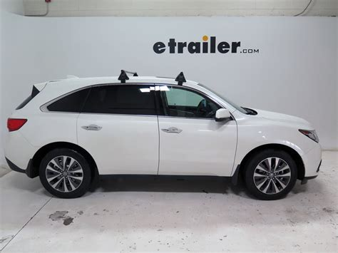 yakima roof rack for 2008 mdx by acura etrailer