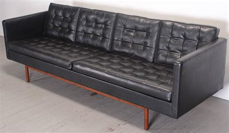 black vinyl sofa milo baughman for thayer coggin black vinyl sofa 1960s