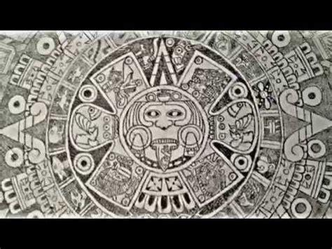 imagenes aztecas para imprimir calendario azteca a lapiz youtube