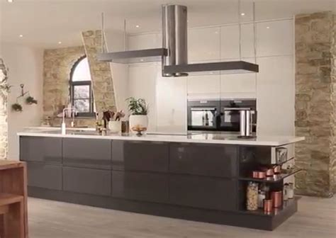 kitchen design howdens howdens s gloss white and graphite integrated handle