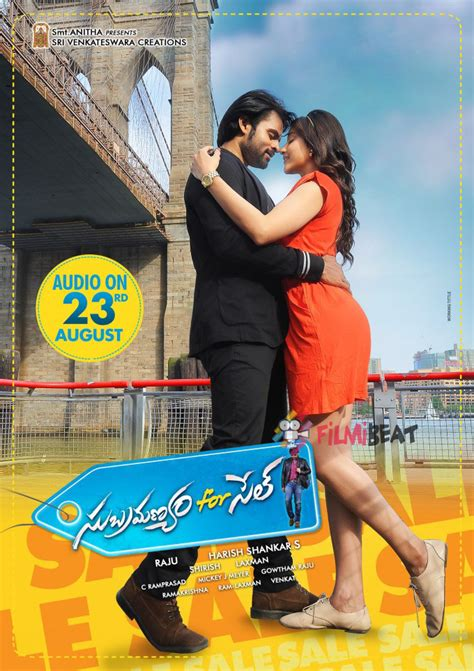 subramanyam for sale tickets advanced booking online subramanyam for sale photos subramanyam for sale images