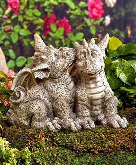 What Is A Sleeping Porch by Dragon Couple Garden Statue Yard Lawn Patio Garden Home