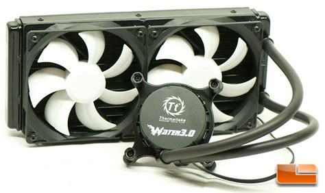 Thermaltake Water 3 0 thermaltake water 3 0 s aio cpu cooler review
