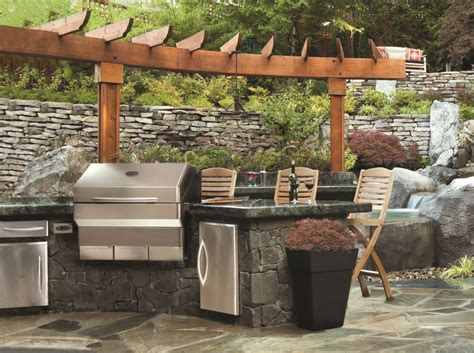Potato Furniture Coquitlam by Outdoor Kitchens Our Wood Grill Grills