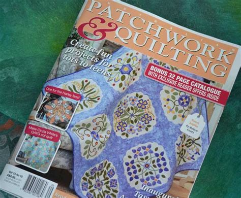 Patchwork Blogs Australia - article in australian patchwork quilting