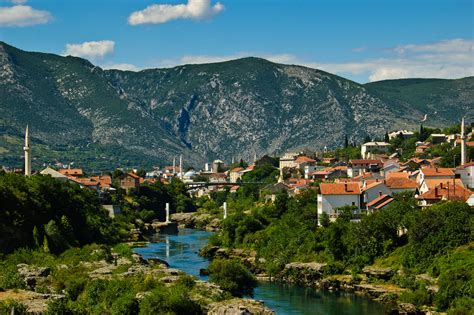 Different Houses Mostar Bosnia World For Travel