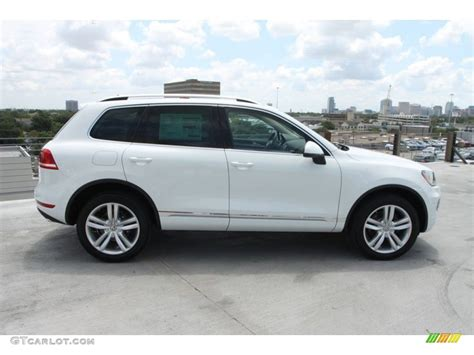 Pure White 2013 Volkswagen Touareg Vr6 Fsi Executive