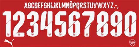 arsenal font puma arsenal font 2014 2015 forum dafont com