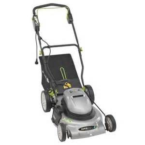 electric lawn mowers at home depot earthwise 20 in corded electric lawn mower 50520 the