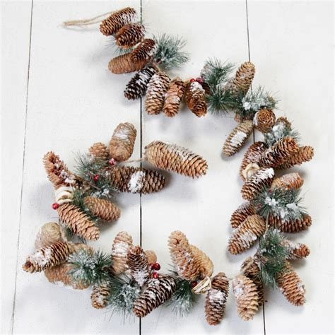 Woodland Christmas Rustic Pine Garland