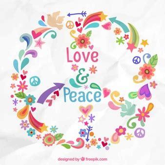 imagenes animadas de amor y paz hippie peace fotos y vectores gratis