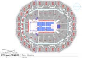 kfc yum center floor plan 28 kfc yum center floor plan kfc yum center seating charts