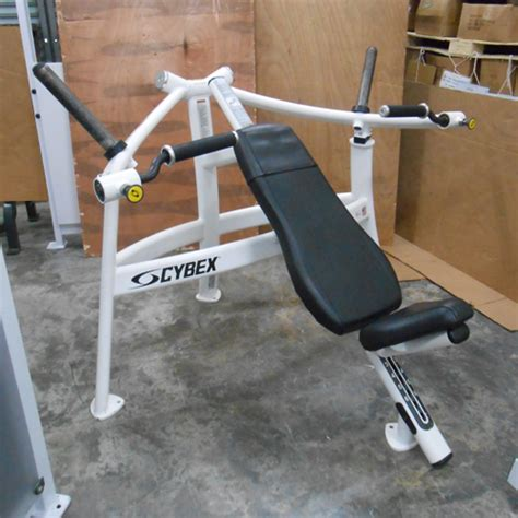 used bench press equipment the gallery for gt cybex chest press machine