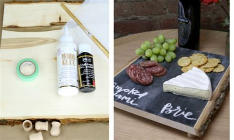 diy chalkboard cheese tray diy make your own chalkboard cheese tray simplemost