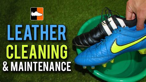 how to clean football shoes how to clean leather football boots leather cleaning