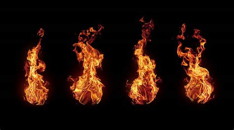 Flames For Fireplace by Pictures Images And Stock Photos Istock