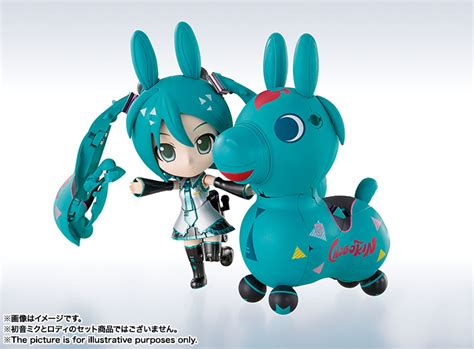Bandai Chogokin Hatsune Miku X Rody Msib hatsune miku x rody transforming chogokin figure announced by bandai mikufan