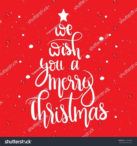 merry christmasunique hand stock vector  shutterstock
