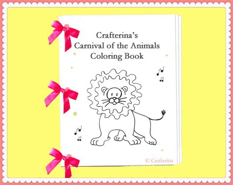 carnival of animals the elephant coloring pages carnival