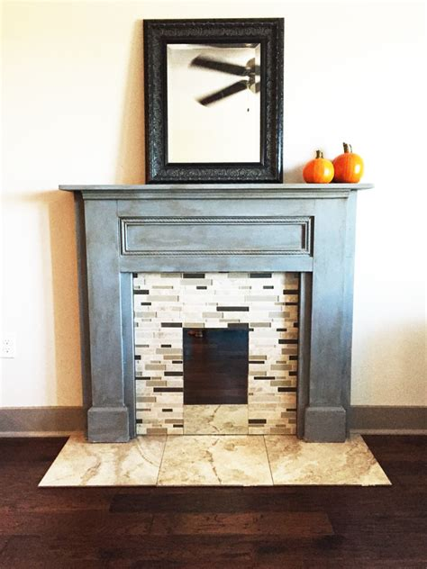faux fireplace mantel part one well made