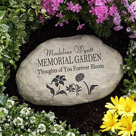 personalized memorial garden