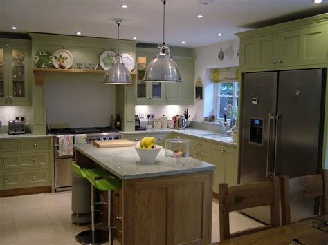 painting kitchen painted and oak kitchen kent s kitchens