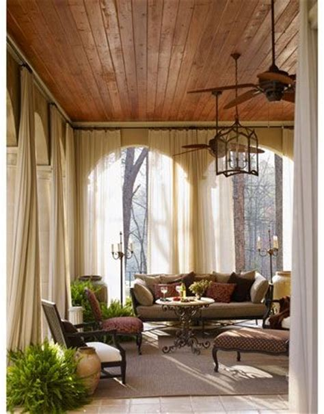 great drapes loving here love this terrace robert brown interior design house