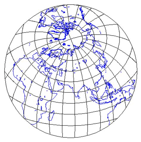 azimuthal map projections page