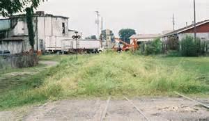 Abandoned rails of rushville