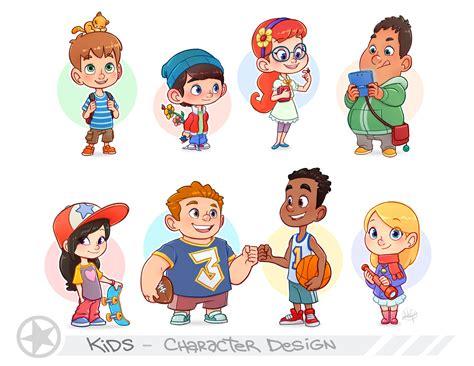 kids standing by luigil on deviantart kids portfolio page by luigil deviantart com on