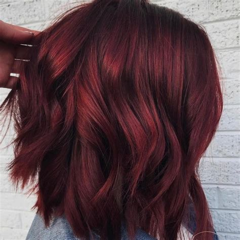 bordeaux hair color mulled wine hair color is for winter