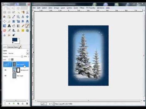 gimp tutorial mask gimp tutorial use edge effects to make ordinary photos