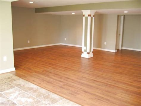 Laminate Flooring In Basement Basement Flooring