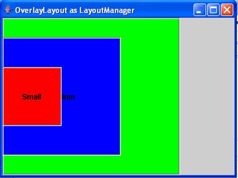 java layout manager tutorial deutsch overlaylayout as layout manager in java free source code