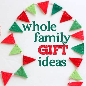 gift ideas for a whole family 2013 gift guide whole family gifts such the spot