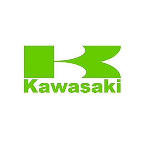 kawasaki emblem kawasaki stickers amazon com