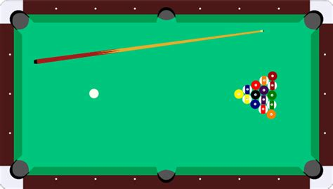pool table cue balls clip at clker vector clip